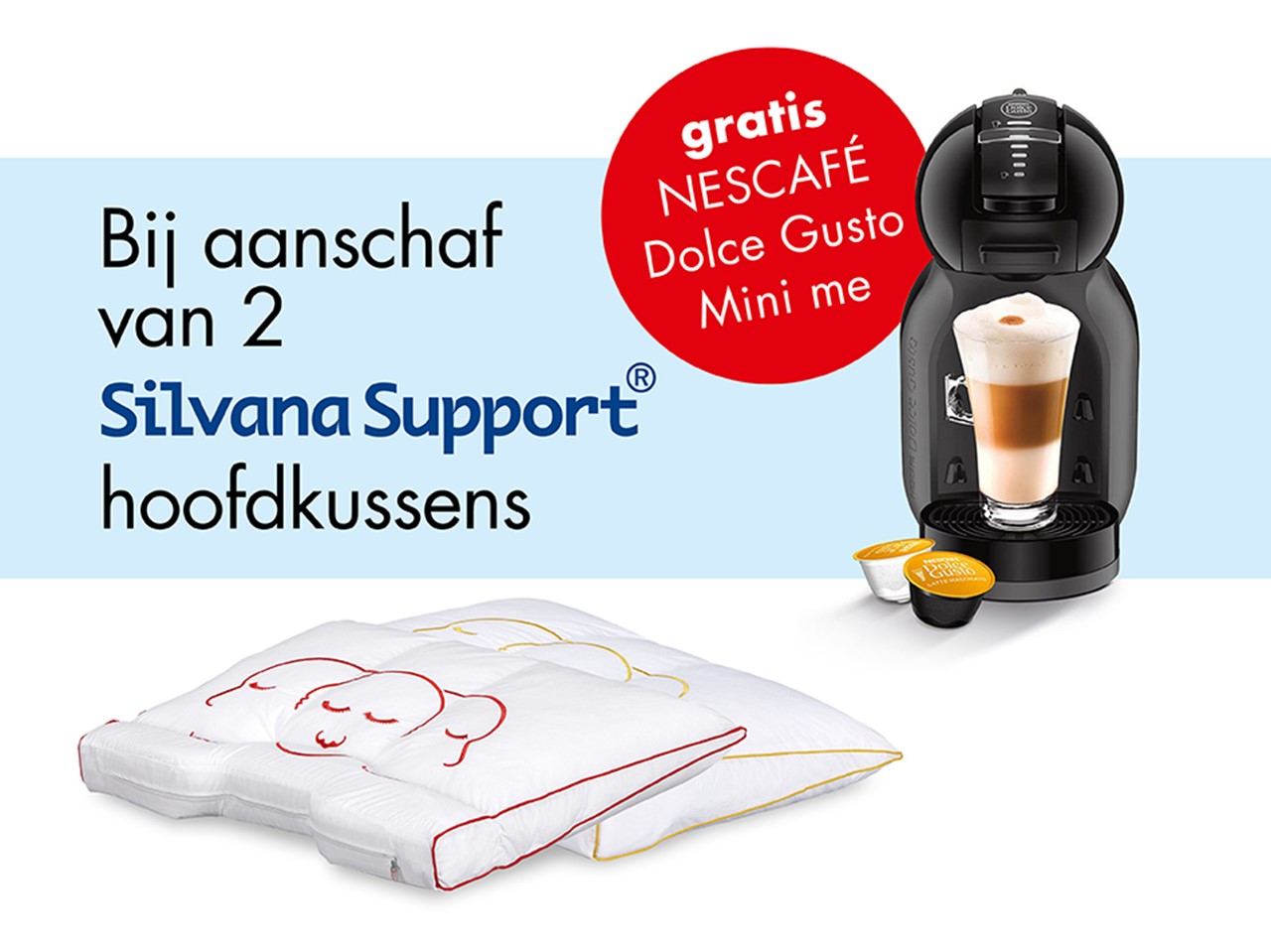 Dolce Gusto Cadeau Silvana actie